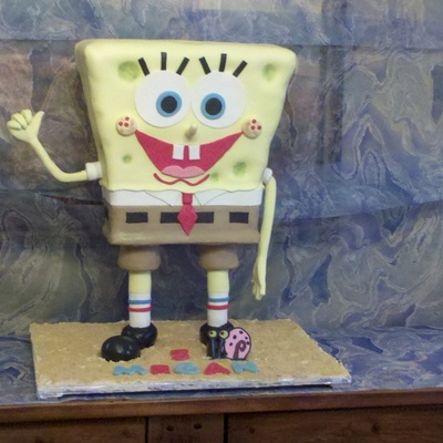 Stand-Up Spongebob