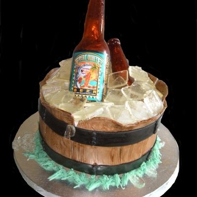 Beer Bottle Cake Decorations Extraordinary Beer Bottle Cake Decorating Photos Inspiration