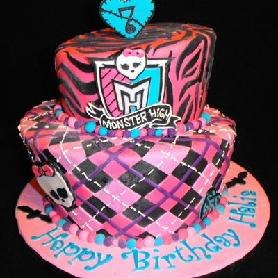 Monster High Topsy Turvy