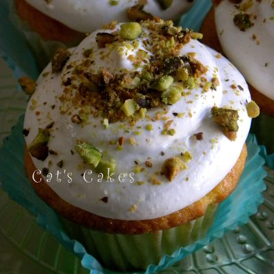 Pistachio Dream Cupcakes