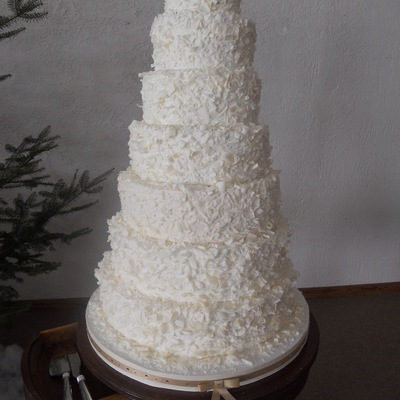 7 Tiered Wedding Cake on Cake Central