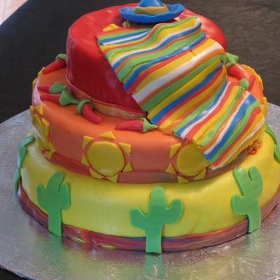 mexican cake decorating photos