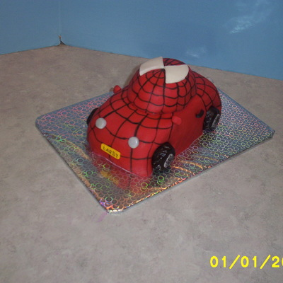 Spidermancarcake on Cake Central
