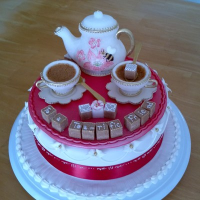Pressed Sugar Tea Set