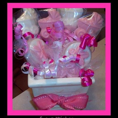 Baby Shower Cookie & Candy Basket