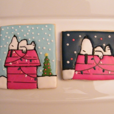 Charlie Brown Christmas - Vintage Snoopy Cookies