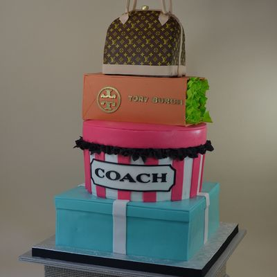 Huge Cake For A High Fashion Girl!
