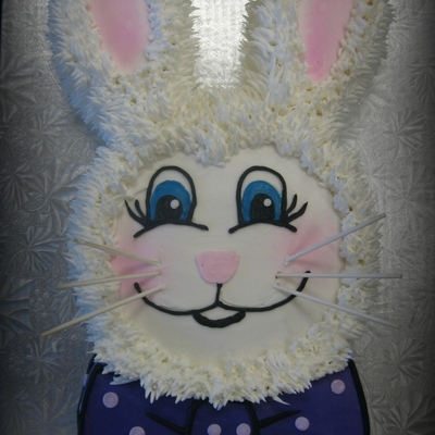 Cut Out Easter Bunny