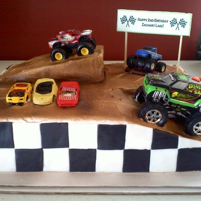 Monster Truck Bday