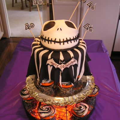 Jack Skellington Bday Cake