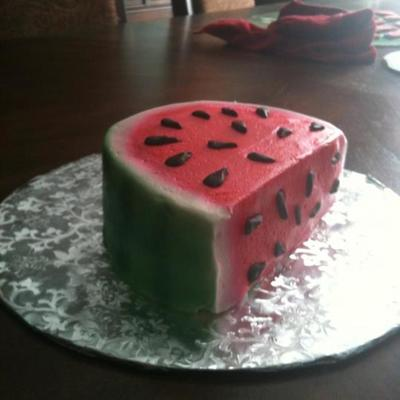Watermelon Smash Cake