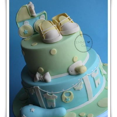 Babyshower Cake For Boy