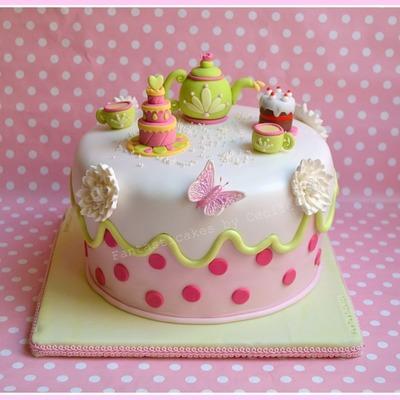 Top Mother S Day Tea Party Cakes Cakecentral Com
