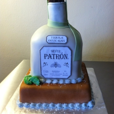 Patron Cake White Cake With Pineapple Filling
