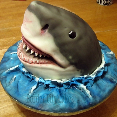How To Make A Jaws Inspired Cake On Youtube