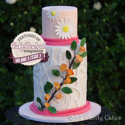Art Nouveaux Wedding Cake For Cake Central Magazine