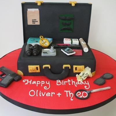 Fine Cake Spy Photos Birthday Cards Printable Giouspongecafe Filternl