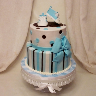 Victoria's Baby Shower on Cake Central