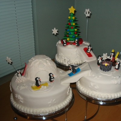 Snowboarding Wonderland on Cake Central
