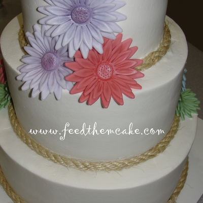 Daisy Wedding Cake