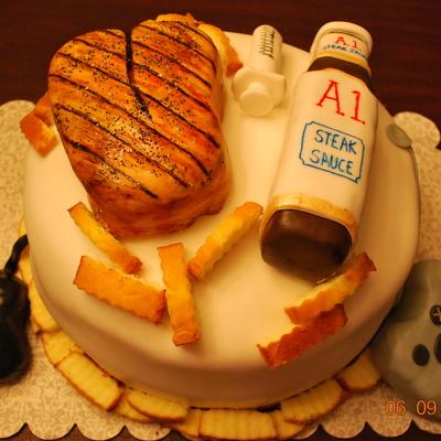 Amazing Steak Cake Decorating Photos Funny Birthday Cards Online Inifofree Goldxyz
