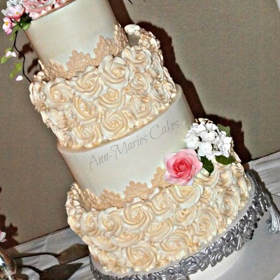 Wright Wedding Cake