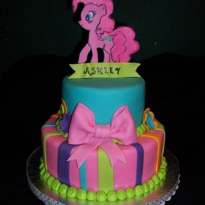 Pinkie Pie My Little Pony Cake