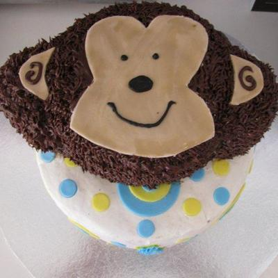 Monkey Cake - 1St Birthday