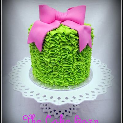 Lime Buttercream Ruffles