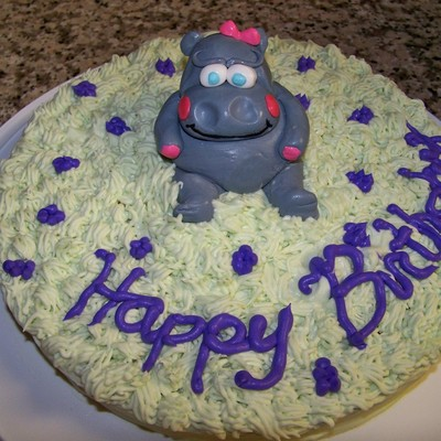 Hippo Cake Decorating Photos