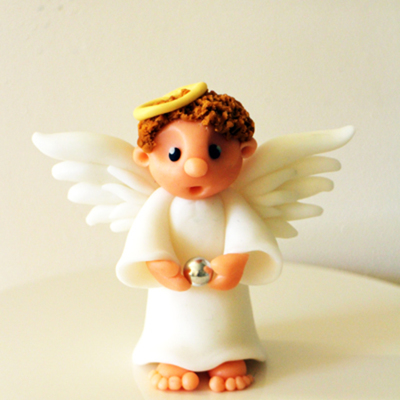 Christmas Angel Cake Topper
