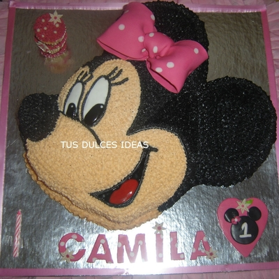 Minnie Mouse Girly Birthday Cake