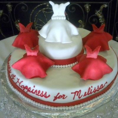 Bridesmaids Cake