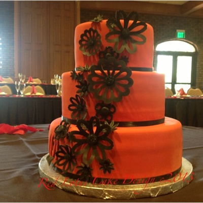 Fantasy Flower Wedding Cake