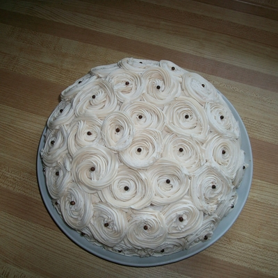 Old Fashioned Rose Cake