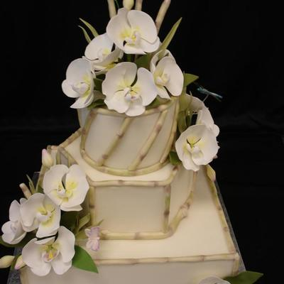 Bamboo Orchid on Cake Central