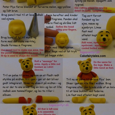 Winnie The Pooh Tutorial on Cake Central