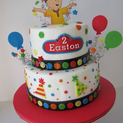 Caillou Birthday Cake