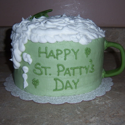 St Patricks Day Beer Mug