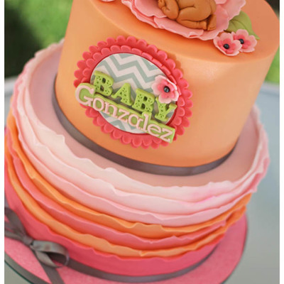Pretty In Peach Baby Shower