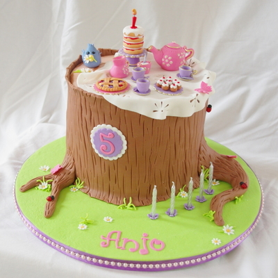 Anjo's Forest Tea Party Cake