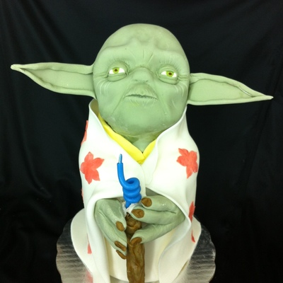 Do Or Do Not There Is No Try This Is One Of The Famous Quotes Of Master Yoda The Head Was Molded With Rkt Covered With Chocolate Clay A