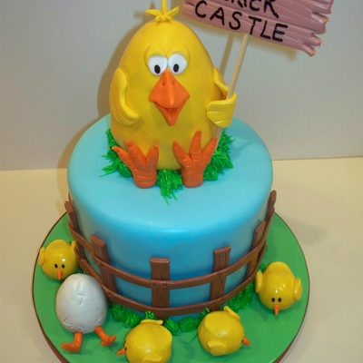Cake For A Chicken Farmer
