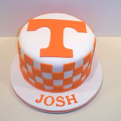 Tennessee Birthday Cake