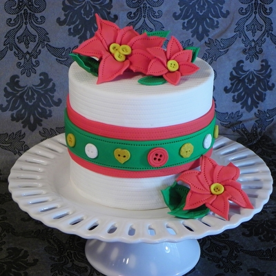 Sewing Christmas Cake
