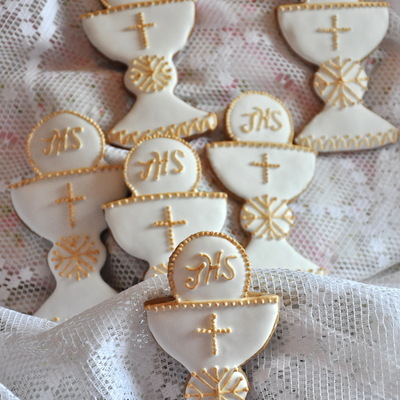 First Communion Favor Cookies