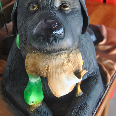 Groom Is A Duck Hunter And This Is A Likeness Of His Dog