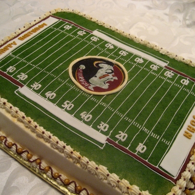 Football Field Birthday