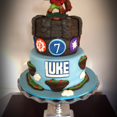 Skylanders Cake For My Sons 7Th Birthday
