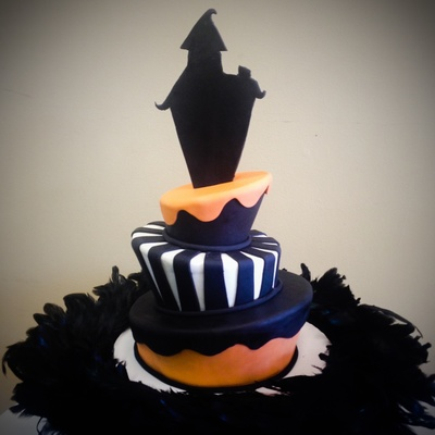 Time For Spooky Cakes Yay This A Tweak From A Halloween Cake I Made A Couple Of Years Ago Enjoy